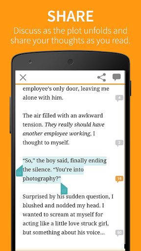 Wattpad Free Books screenshots 5