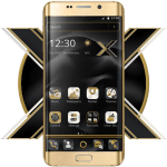 Black Gold X Launcher 1.1.7 APK