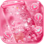 Pink Diamond Theme Wallpaper Glitter 1.1.2 APK