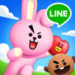 LINE HELLO BT21- Cute bubble-shooting puzzle game!