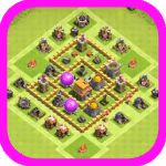 Town Hall 5 Hybrid Base Layouts