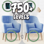 Find the differences 750 + levels