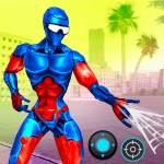 Spider Stickman hero: Gangster of Real crime city