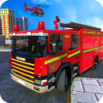American FireFighter Truck : City Emergency Rescue