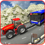 Offroad Towing Chained Tractor Bus 2019