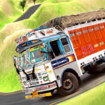 Indian Truck Offroad Cargo Delivery: Offline Games